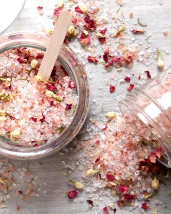 Rose Geranium Bath Salt